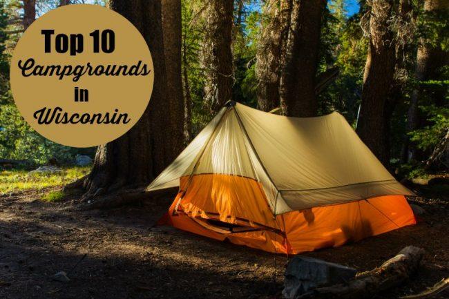 top ten campgrounds in wisconsin