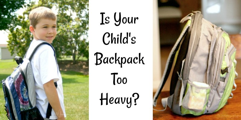 Wellness Wednesday: Is Your Child's Backpack Too Heavy ...