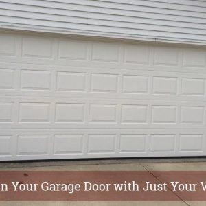 Control Your Garage Door with Your Voice!