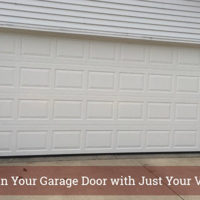 Control Your Garage Door with Your Voice!