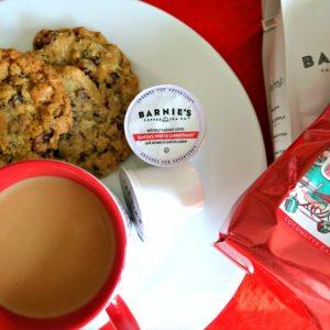 Reward Yourself with Santa's White Christmas by Barnie's Coffee