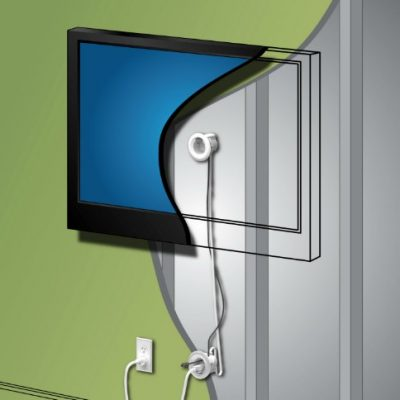 How to Hide TV Wires and Power Cords