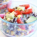 Instant Pot Black Bean and Quinoa Salad