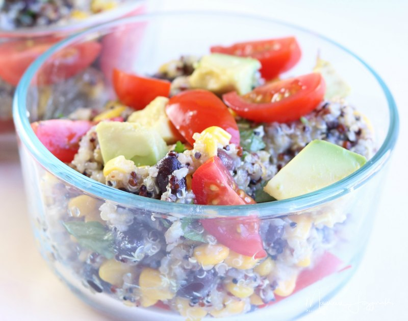 Instant Pot Black Bean and Quinoa Salad
