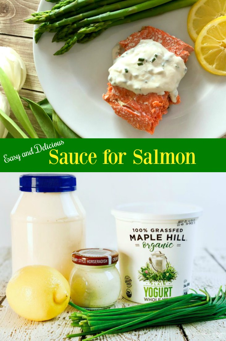 Easy and Delicious Sauce for Salmon