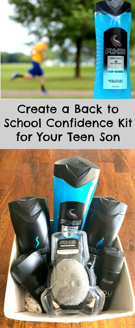 Check out these tips to help your teen boy stay fresh and confident as they head back to school! #GoBackwithAXE #backtoschool #teens