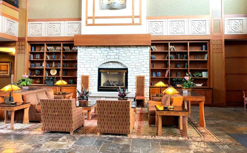 eaglewood resort and spa lobby