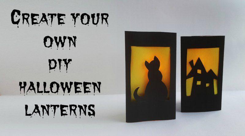 Halloween DIY Lantern – Halloween Craft