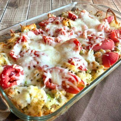 Baked Tomato Mozzarella