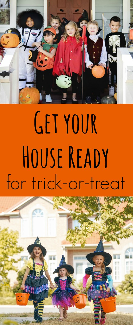 Is your house as safe as it should be for those trick-or-treaters who will be visiting soon? We share five tips to get your home ready! #halloween