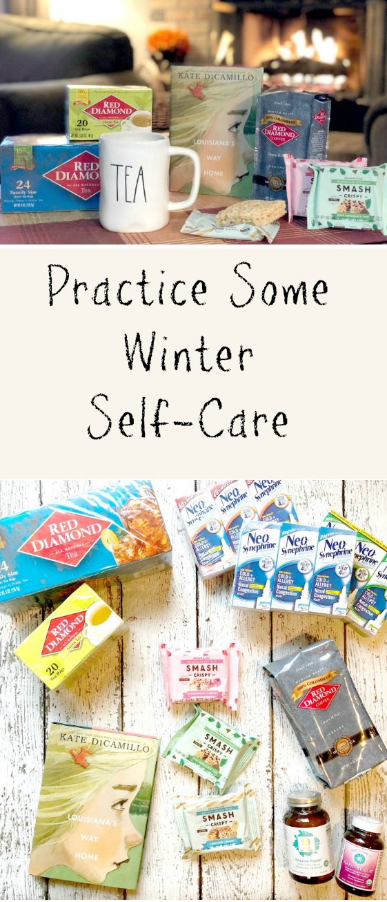 The cold weather and holidays are here. It can be a stressful time so make sure you are practicing some self-care.