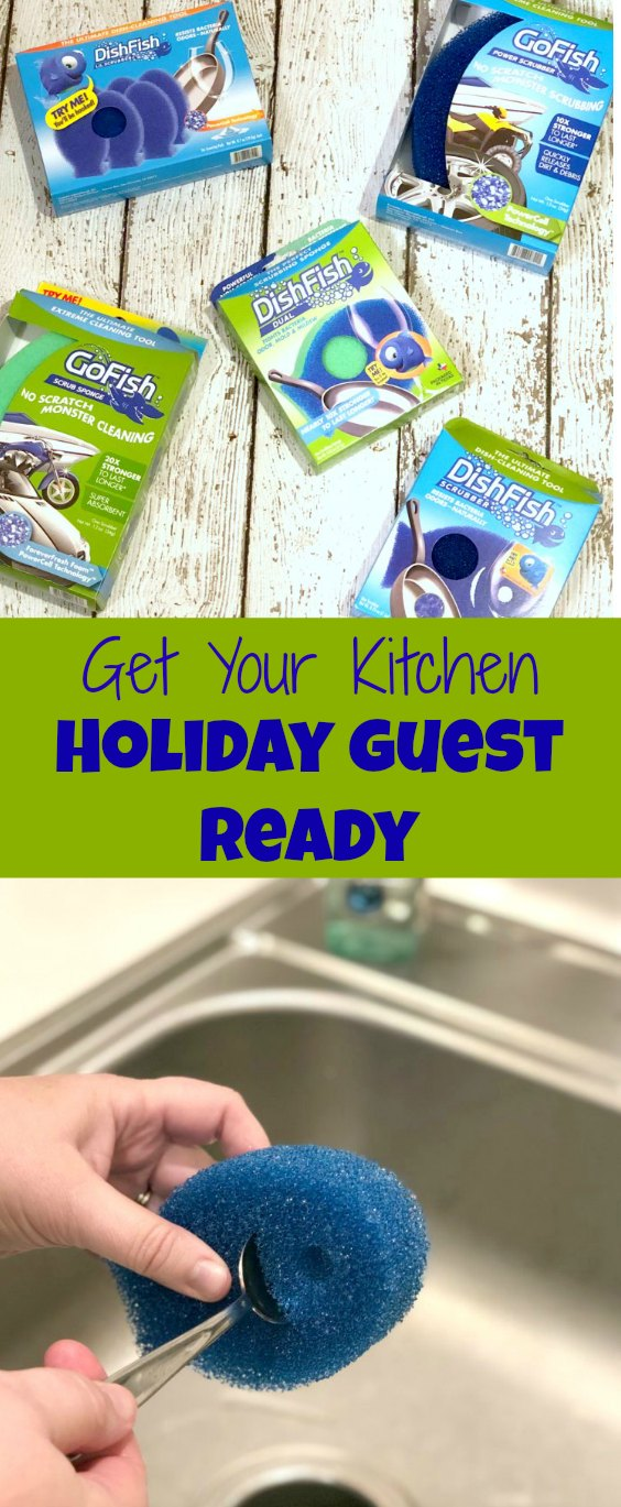 The holidays are right around the corner and you know your guests always wind up in the kitchen. Make sure yours is clean and ready for guests.