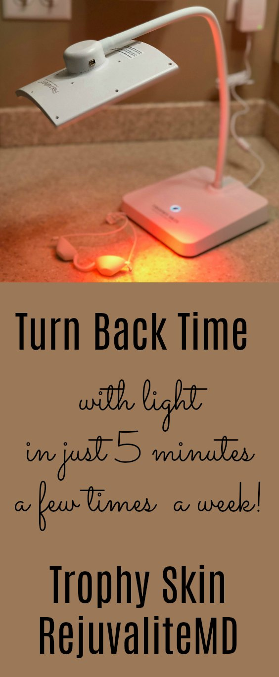 Can you turn back time just by using light? With Trophy Skin's Rejuvalite, you can! It only takes 5 minutes a few times a week.