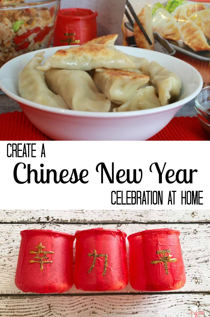 Chinese New Year is on February 5th this year. We are celebrating at home with a traditional dumpling dinner and a fun DIY red lantern craft. #LingLingAsian #LL #ad