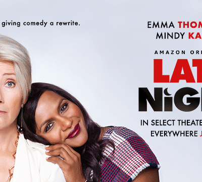 "Win a ""LATE NIGHT"" Prize Pack #LateNightMovie"