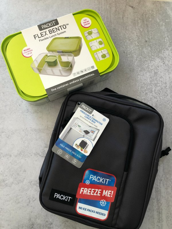 PackIt freezable bags keep lunches cold with their built in freezer packs.