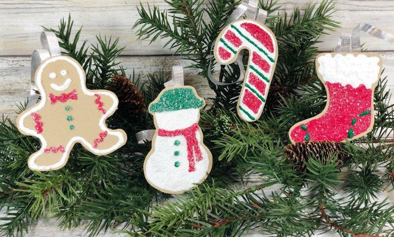 DIY Foam Cookie Ornaments