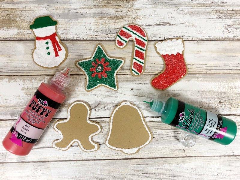 PROCESS 4 DIY foam cookie ornaments
