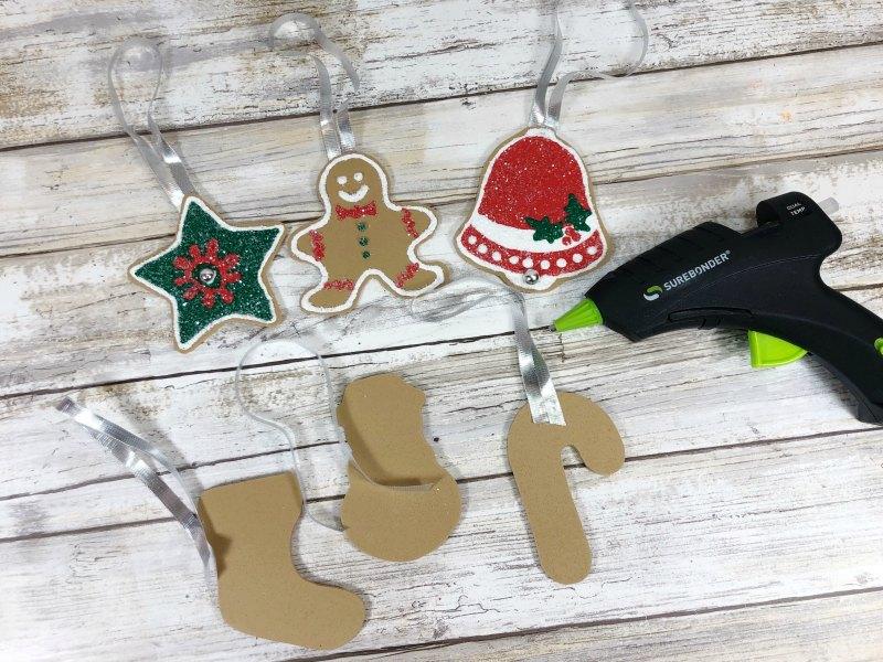 PROCESS 7 DIY christmas ornaments