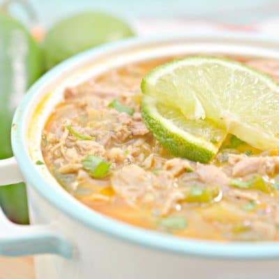 White Chicken Chili Recipe – Keto Friendly