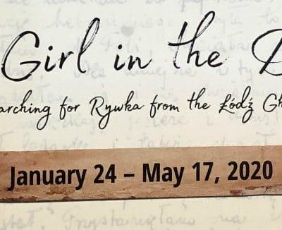 Milwaukee Jewish Museum Exhibit: The Girl in the Diary