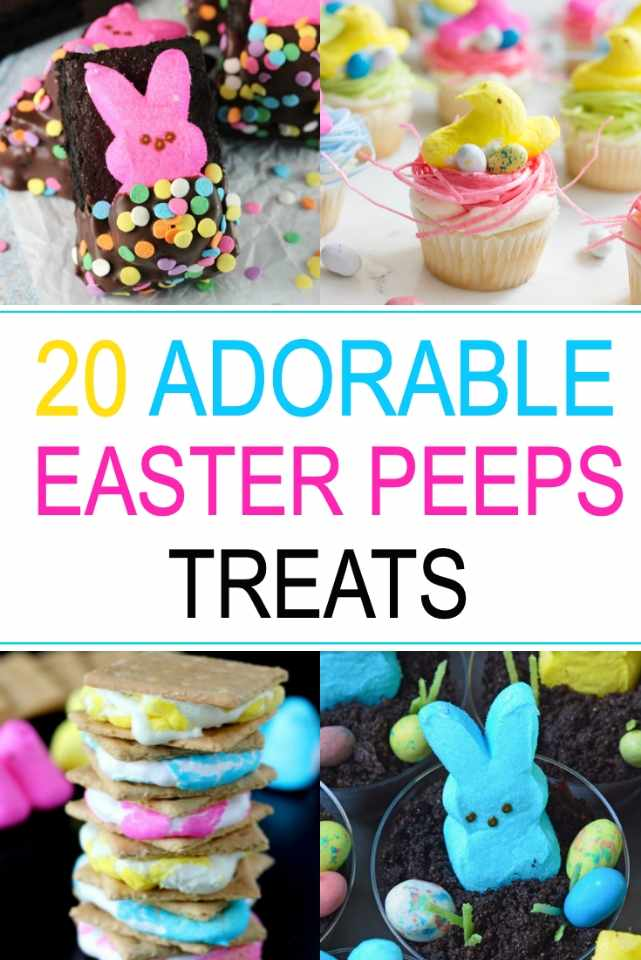 Easter Peep Treats to Make