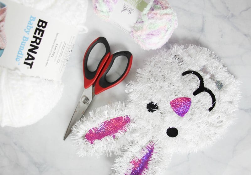 bunny butt wreath supplies