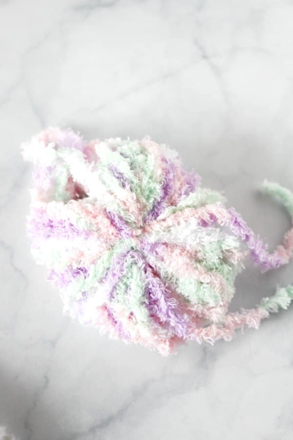 tail for bunny wreath