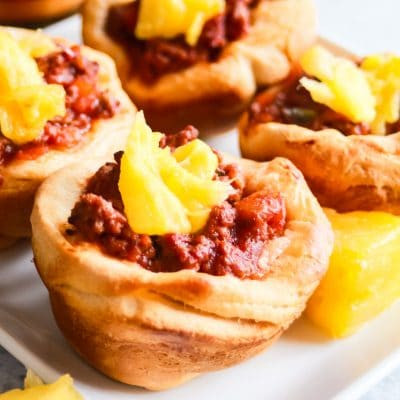 Sweet BBQ Sloppy Joe Cups