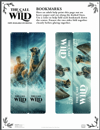 call of the wild bookmarks