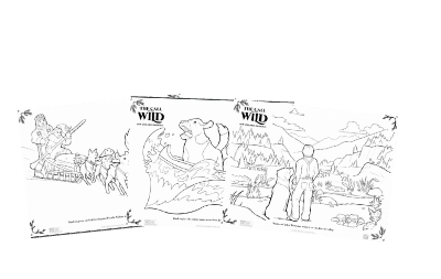 call of the wild coloring pages