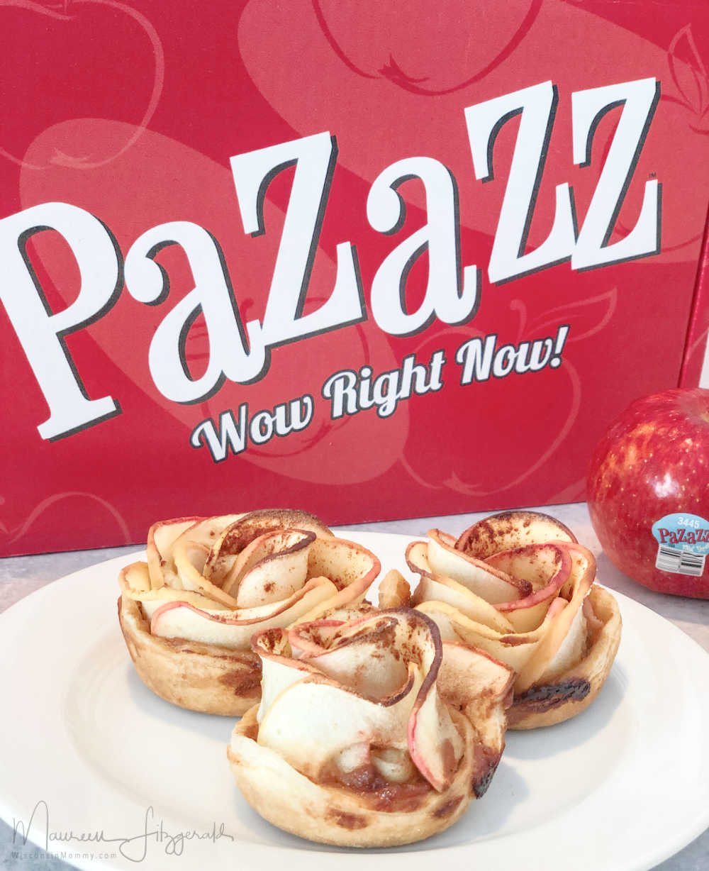 apple pastry dessert with pizazz apple box