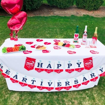 Throw a Heartiversary Celebration