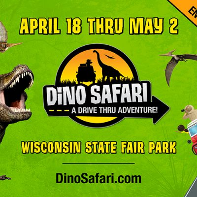 Drive Back in Time with Dino Safari – Ticket Giveaway